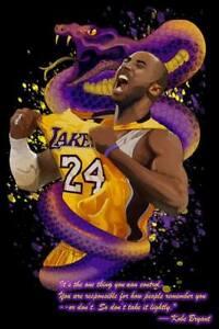 Kobe Bryant Black Mamba NBA Trippy Wall Art Psychedelic Home Decor Tapestry