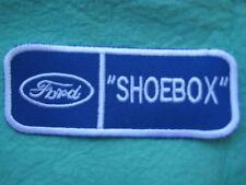 """Ford Shoebox Uniform Patch 4 3/8"""" X 1 3/4"""""""
