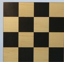 "CHESSBOARD - 15¾"" ~ 2"" SQ's - INLAID MAPLE MODERN FRAMELESS STYLE (ww 50400bc)"