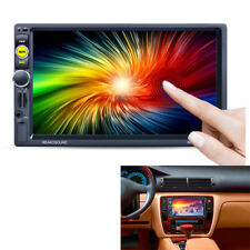 """2 DIN  7157B 7""""HD MP5 Player Bluetooth Support TF Card USB Two video sync output"""