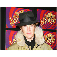 Benedict Cumberbatch in Top Hat and Fur Lined Coat La Soiree 8 x 10 inch photo