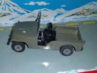 MEBETOYS ITALY 1/43 JEEP WILLYS A89