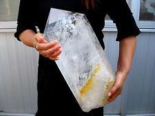 38.32lb HUGE NATURAL Clear quartz crystal point healing