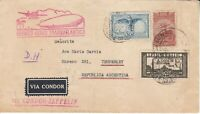 Covers Zeppelin 1934 Airship Brazil Argentina Condor LZ127 Trans Atlantic Flight