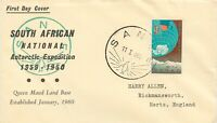 SOUTH AFRICA 1960 SANAE 3 d w. FDI of establishment of the Queen Maud Land Base