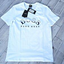 HUGO BOSS Green Label Herren Jeevan Windjacke Jacke mit Kapuze XL 42R Weiß Blau