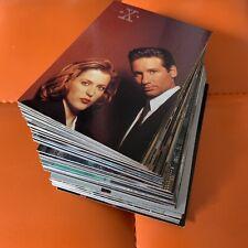 Trading cards - The X-Files - Season 3 - Komplett Set 1996 Akte X Series Three