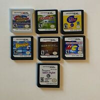 Lot of 7 Nintendo DS and 3DS Games - Mario& Sonic, Beyblade, Namco, Boogie, Pet