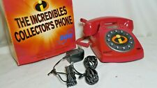 "NEW DISNEY ""THE INCREDIBLES"" SBC Corded Telephone W/ Caller ID, Call Waiting"