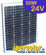 Pannello solare fotovoltaico 50 Watt/24V