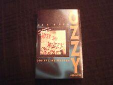Ozzy Osbourne - Just Say Ozzy  -1995 Remaster Cassette / VG+/ Hard Rock Metal