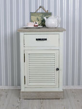 Nightstand White Night Table Bedside Table Shabby Chic Country Console Vintage