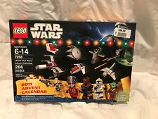 NEW Lego 7958 Star Wars Advent Calendar 2011 Factory Sealed 9 figures