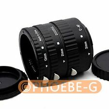 Meike Auto Focus Macro Extension Tube for CANON EOS 650D 600D 700D 60D 550D 7D