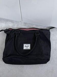 Herschel Large Laptop Carry Shoulder Bag Black