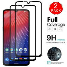2-Pack For Motorola Moto G7 Plus P40 G6 E5 Full Tempered Glass Screen Protector