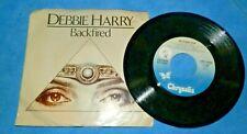 DEBBIE HARRY (BLONDIE)-BACKFIRED/MILITARY RAP-CHRYSALIS 2526 VG+/VG+ 45+PS