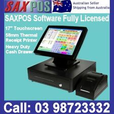 SAXPOS Touchscreen Basic POS System Point of Sale + Hospitality Retail Software