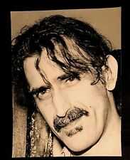 EARLY 90'S FRANK ZAPPA OVER SIZED 8 1/2 X 11 3/4 PHOTO LESS THAN 20 EVER EXPOSED