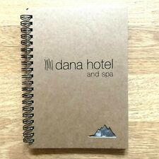 DANA HOTEL & Spa  Notebook Journal Rare Office Supplies Luxury Chicago IL