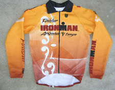 Ironman Finisher Thermal Cycling Jersey Tempe Arizona Sz M Full Zip by K-Swiss