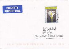 A_899 2305 auf Bedarfsbrief aus 2000-Internationale Gartenschau Graz Sumpfcalla