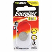 Energizer Replacement Car Alarm & Garage Remote Control Battery-CR1616-FREE POST