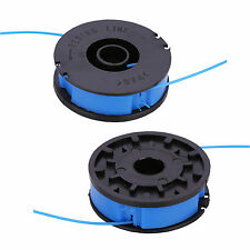 2 x ALM Trimmer Spool & Line for Florabest FRT430 FRT430/10 FRT500/8 Strimmers