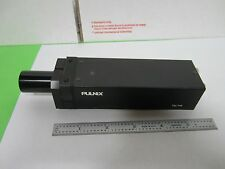 MICROSCOPE INSPECTION VIDEO CAMERA CCD PULNIX TM-745 OPTICS AS IS BIN#N4-16