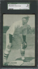 1927 Exhibits Freddie Lindstrom SGC 50 VGEX 4 New York Giants Hall-of-Fame
