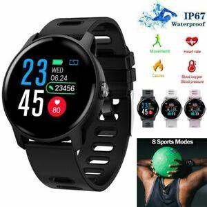 Women Men Smart Watch Fitness Tracker Heart Rate Sport Bracelet for Samsung LG