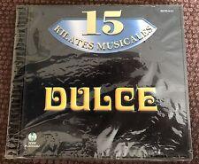 15 KILATES MUSICALES DULCE HERIDAS HIELO MUNECA ECHAME CULPA MI CANTANTE CARA CD