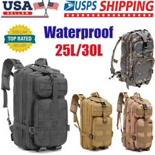 25L/30L Outdoor Military Tactical Backpack Rucksack Camping Bag Travel Hiking US
