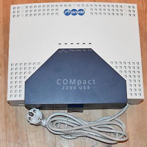Auerswald Compact 2206 USB ISDN Telefonanlage 6x analog 2x S0 + Gewährleistung