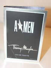 Thierry Mugler AMEN Eau De Toilette EDT Spray Men Sample Vial .04 oz/1.2mL New
