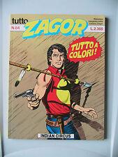 Tutto Zagor n. 84 a colori 1991
