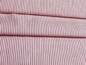 Candy Pink P7-100/% Cotton Multiple Sizes Pinstripe Makower Fabric