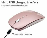 2.4GHz USB Wireless Optical Mouse Mice for Apple Mac Macbook Pro Air All PC