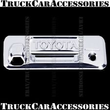 For TOYOTA Tacoma 2016 2017 Chrome Tailgate Cover WITH Keyhole+Camera+Letters