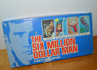 VINTAGE SIX MILLION DOLLAR MAN BOARD GAME 1975 PARKER BROTHERS NEAR COMPLETE 70S