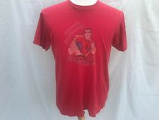 Vintage Spiderman Mad Engine Red T Shirt Mens Size Large 100% Cotton 618