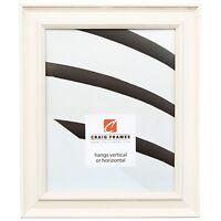"Craig Frames Country Estate, 1.5"" White Hardwood Picture Frame"