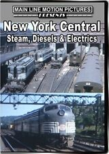 New York Central Steam Diesel & Electrics in the 1950s & 1960s DVD Mohawks RDCs