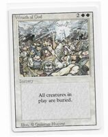 Magic the gathering ~ MTG ~ 1x Wrath of God ~ Revised ~ LP