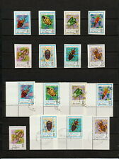 (YYAZ 592) Vietnam 1982 IMPERF + Perf NH Mich 1258 -65 Scott 1221 -28 Insects
