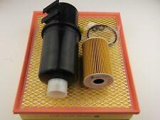 Volkswagen Amarok filter kit oil,air,fuel suits 2.0l CRDI diesel 2/2011 onwards