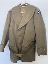 WW2 Original Named 3rd Division Generals Winter Jacket
