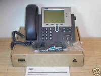 NEU Cisco CP-7941G-CH1 voice and IP Telefon with Device License NEW OPEN BOX