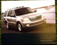 Original 2005 Lincoln Navigator Sales Brochure 05