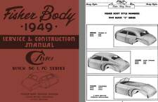 Buick 1949 - Fisher Body 1949 Service & Construction Manual - C Styles Buick 50